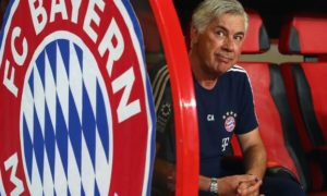 Champions League: Bavaria on the Ancelotti curve