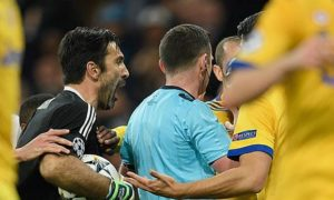 "Champions League: Buffon does not regret refereeing: ""Would it say so again"""