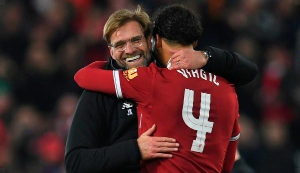 """Premier League: Van Dijk raves about Klopp: """"The perfect coach"""""""