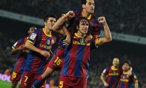International: Carles Puyol: Hard as nails on the court, next to him a true friend