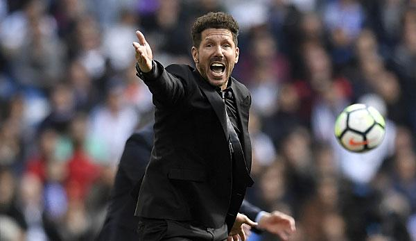 Primera Division: Diego Simeone confirms stay with Atletico Madrid