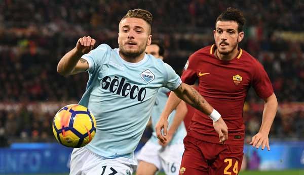 Serie A: Lazio Rome v AS Rome: Watch the Derby della Capitale live today