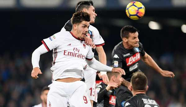 Series A: AC Milan vs. SSC Naples on live stream or live ticker today