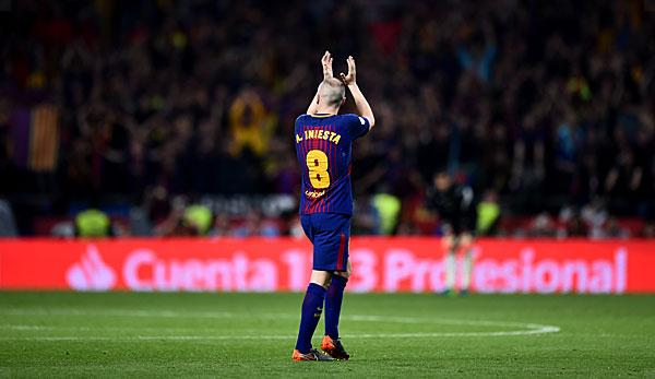 f0dae270655 Primera Division  Andres Iniesta s farewell to FC Barcelona  The tears of  the candy distributor
