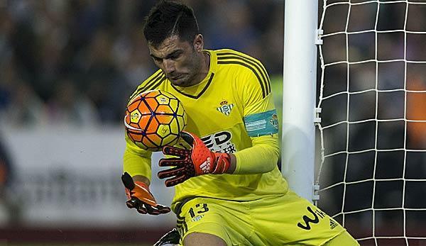 Primera Division: Betis-Keeper Adan to become ter Stegen's representative
