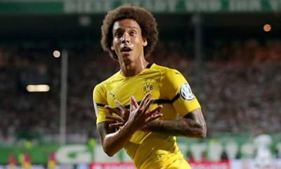 "DFB Cup: Witsel causes confusion with ""Double Eagle"" cheers"