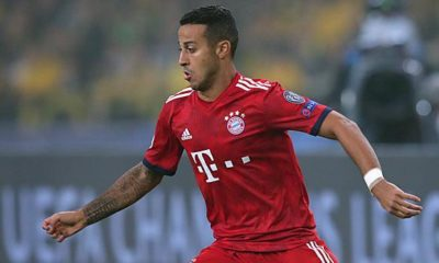DFB Cup: FCB Shock: Thiago Injured Replaced