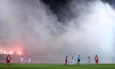 DFB Cup: Pyro-Chaos! HSV game was about to be cancelled