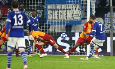 Champions League: Ripped off Schalker with one leg in the round of sixteen