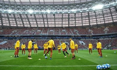 Champions League: Champions League: Moscow - Rome