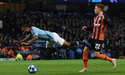 Champions League: Sterling stumbles - referee whistles