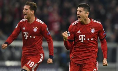 Champions League: Bavaria makes round of sixteen practically clear - Lewy gives Kovac some air