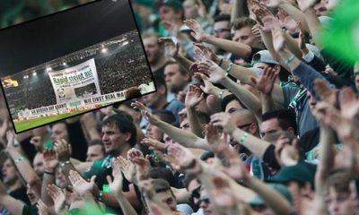 Europa League: Rapid fans show impressive choreography