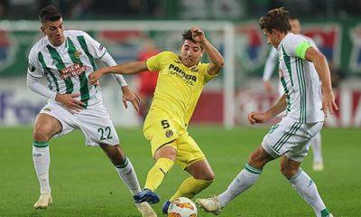 Europa League: Rapid scores past possible victory