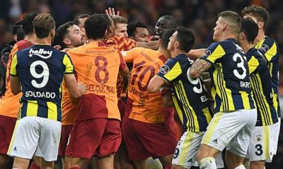 International: Derby Fighting: Penalties for Gala and Fener