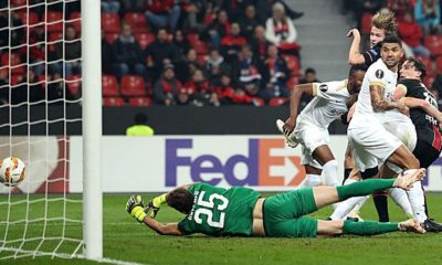 Europa League: Jedvaj heads clever Werkself into the knock-out phase