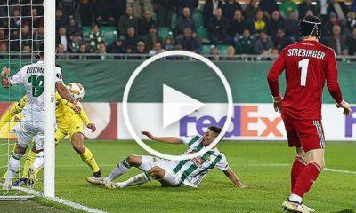 Europa League: Highlights: SK Rapid Vienna vs. Villarreal