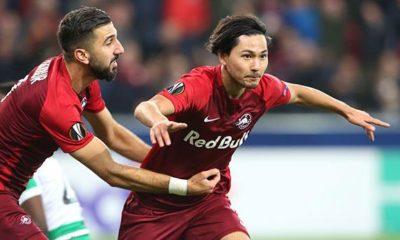 Europa League: Great EL honour for Salzburg's Minamino