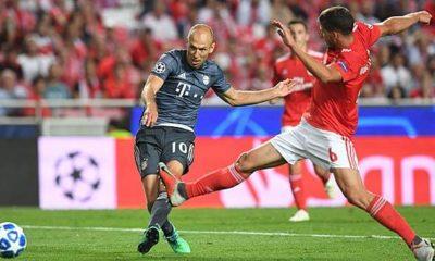 Champions League: FC Bayern Munich against Benifica Lisbon
