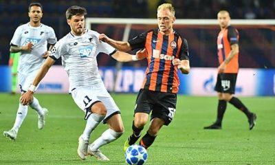Champions League: TSG Hoffenheim against Schachtar Donezk
