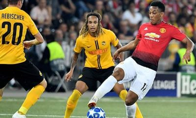 Champions League: Manchester United vs. Young Boys Bern