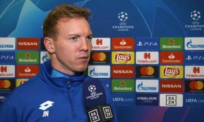 Champions League: Nagelsmann: Minimum goal - secure Europa League!