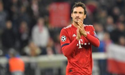 Champions League: Hummels missing FCB apparently against Benfica