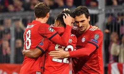 Champions League: Bayern make progress today
