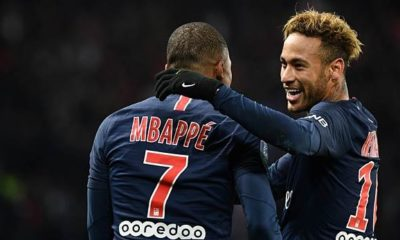 Soccer: Mbappe and Neymar in starting eleven against Liverpool