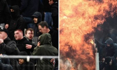 Champions League: Blood and flames! Heavy riots before Ajax game