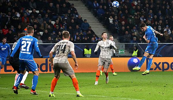 Champions League: Highlights TSG Hoffenheim against Shakhtar Donezk: The TSG is out - All goals in the video