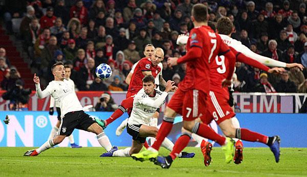 Champions League: Highlights FC Bayern Munich vs. Benfica Lisbon: All goals in the video