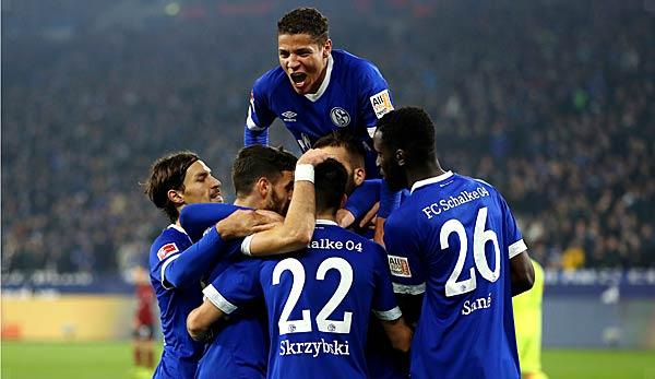Champions League: FC Schalke 04 in Group D: Table, match days, dates