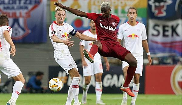 Europa League Rb Salzburg Vs Rb Leipzig In Live Ticker Today Sport World