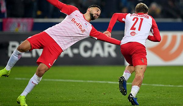 Europa League: Group winner! Salzburg defeats Leipzig a second time