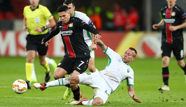 Europa League: Werkself defends lead in standings