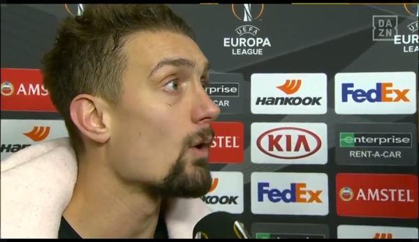 """Europa League: Ilse surprises: """"Oh! Then it sucks"""""""