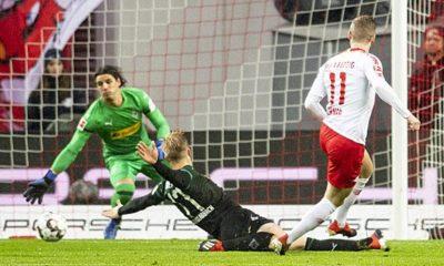 Bundesliga: Werner decides chase duel and stops Gladbach's run
