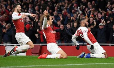 Premier League: Arsenal wins Derby against Spurs