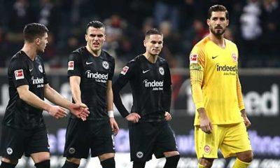 Bundesliga: Eintracht high-altitude flight stopped: Trapp rages against Schiri