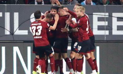 Soccer: Nuremberg against Leverkusen live