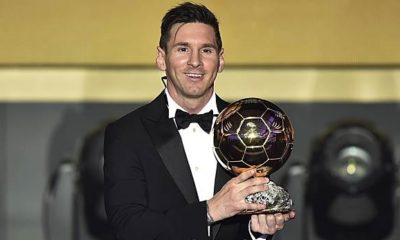 International: Watch Ballon d'Or live on TV and livestream today