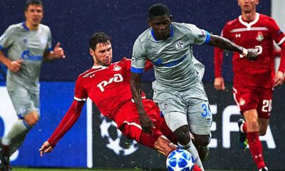 Champions League: Schalke against Lok. Moscow