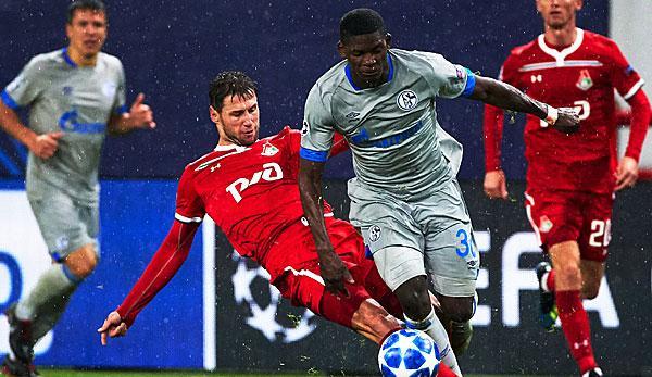 Champions League: Schalke against Lok. Moscow
