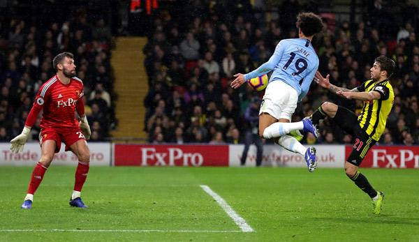 International: Sane meets - City trembles to victory at Watford