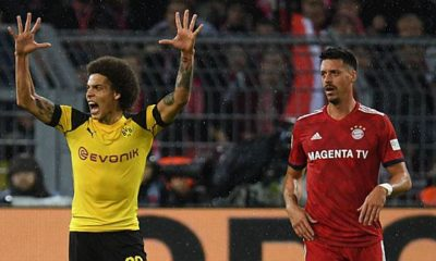 "Bundesliga: Witsel confirms FCB rumours: ""Ancelotti has deposited his interest"""