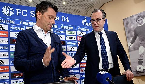 Bundesliga: S04: This is how Tönnies plans with Heidel/Tedesco