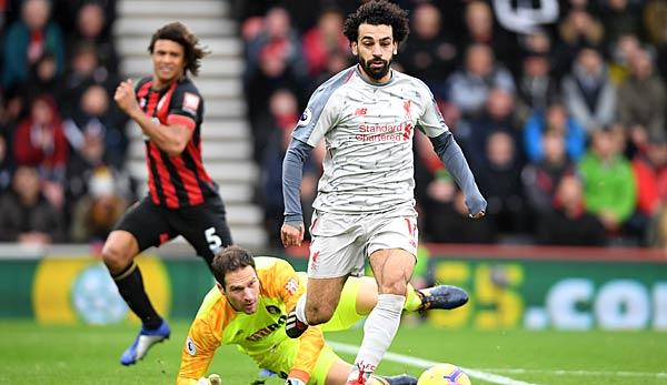 Premier League: Hat trick for Salah - Reds take the lead