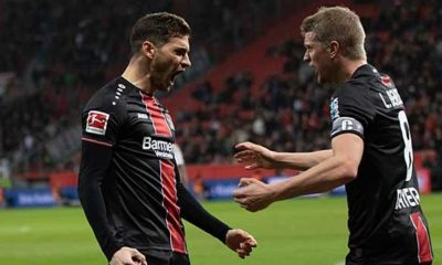 Bundesliga: Joker Alario gives Bayer work victory