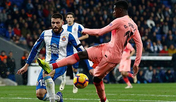 Primera Division: Dembele scores in Derby - Messi sinking free kicks